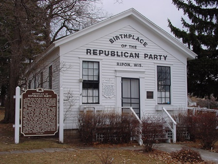 Birthplace of the Republican Party - Ripon, WI