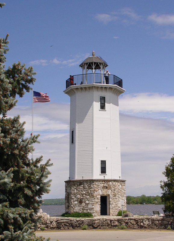 Lighthouse in Lakeside Park, Fond du Lac